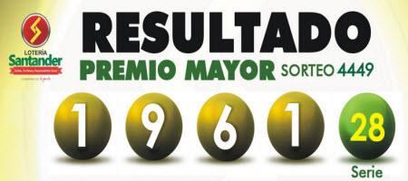loteria de santander ver resultado 11 de octubre