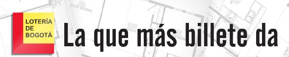 Logo y lema de la Lotería de Bogotá
