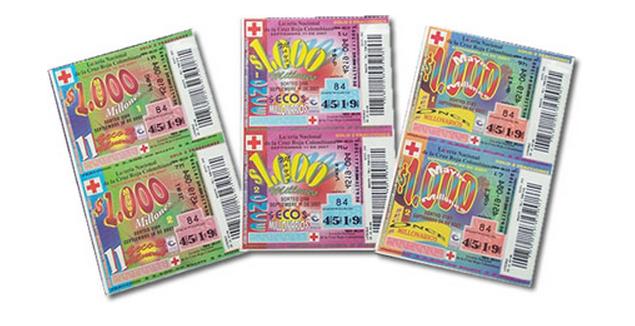 loteria de la cruz roja y el plan de premios