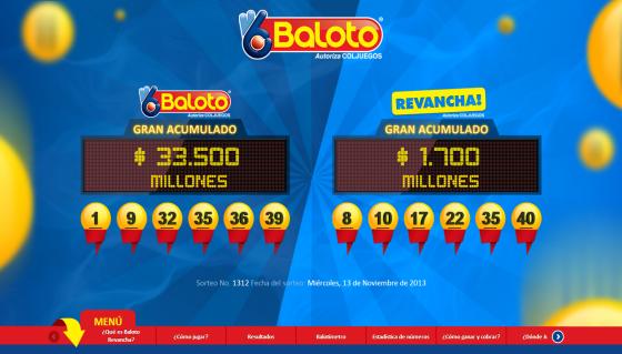 Pagina web oficial www.baloto.com baloto www baloto com