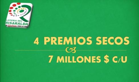 Plan de premios Lotería de Risaralda