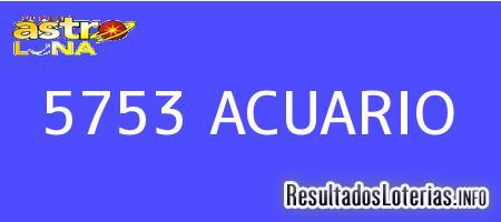 5753 ACUARIO