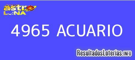 4965 ACUARIO